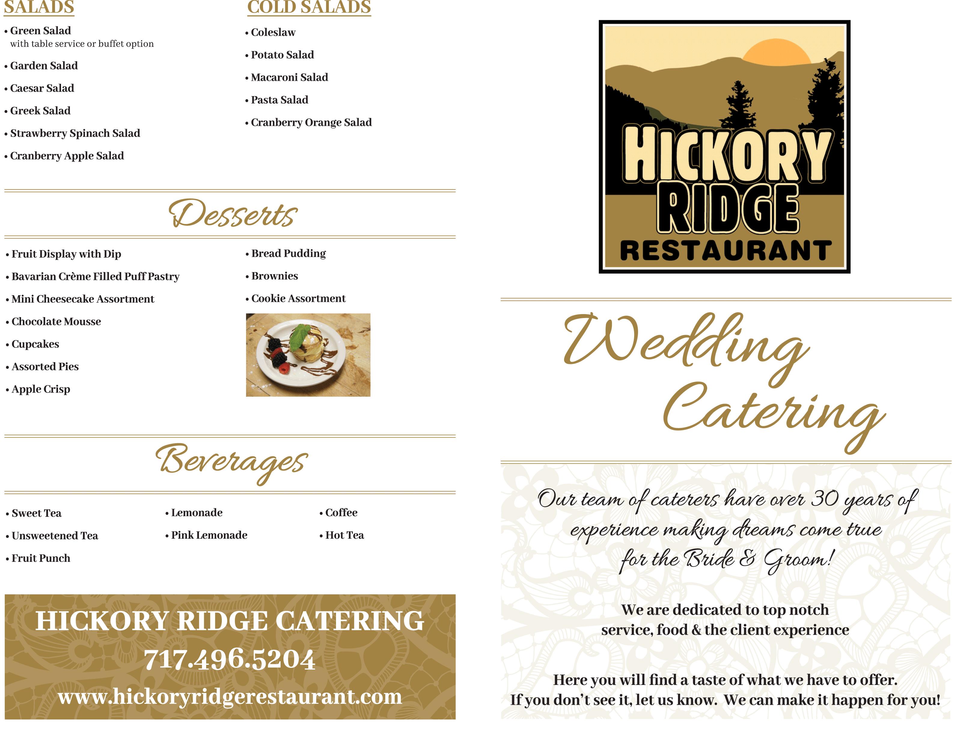 Bridal Show Brochure 1